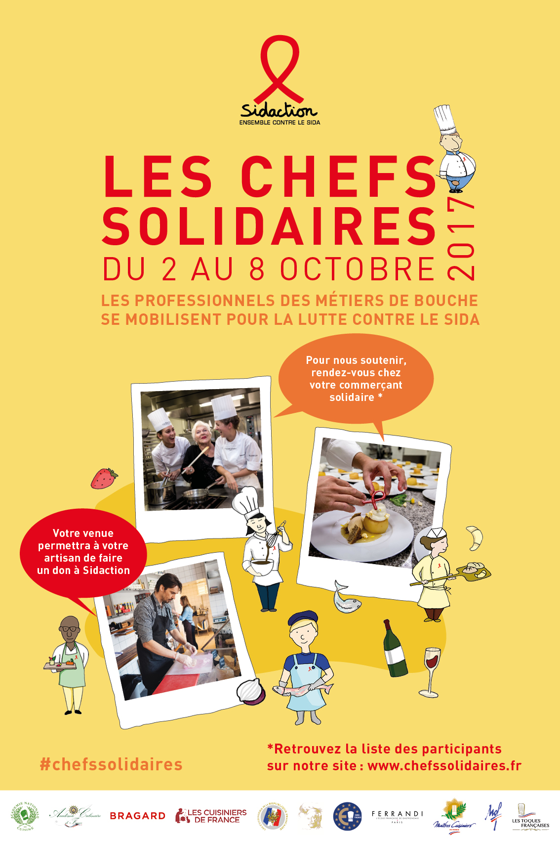 Affiche_chefs Solidaires 2017