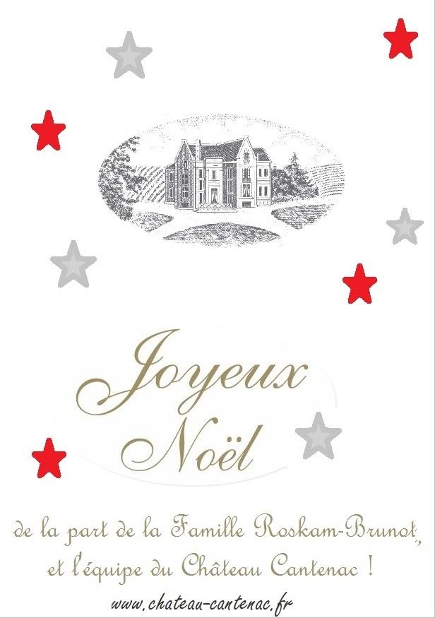Joyeux Noel - Château Cantenac