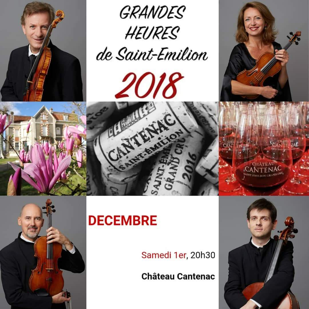 GRANDES HEURES 2018 CH. CANTENAC